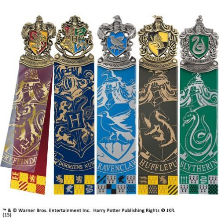 Harry Potter Crest Bookmarks - Boxed Set of 5